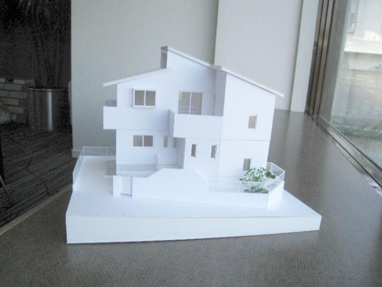 計画中の模型