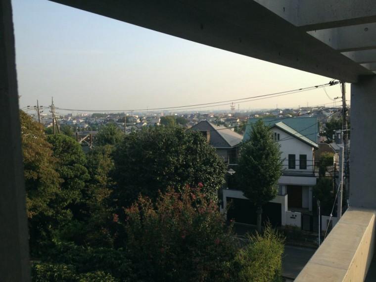 2階寝室からの眺望