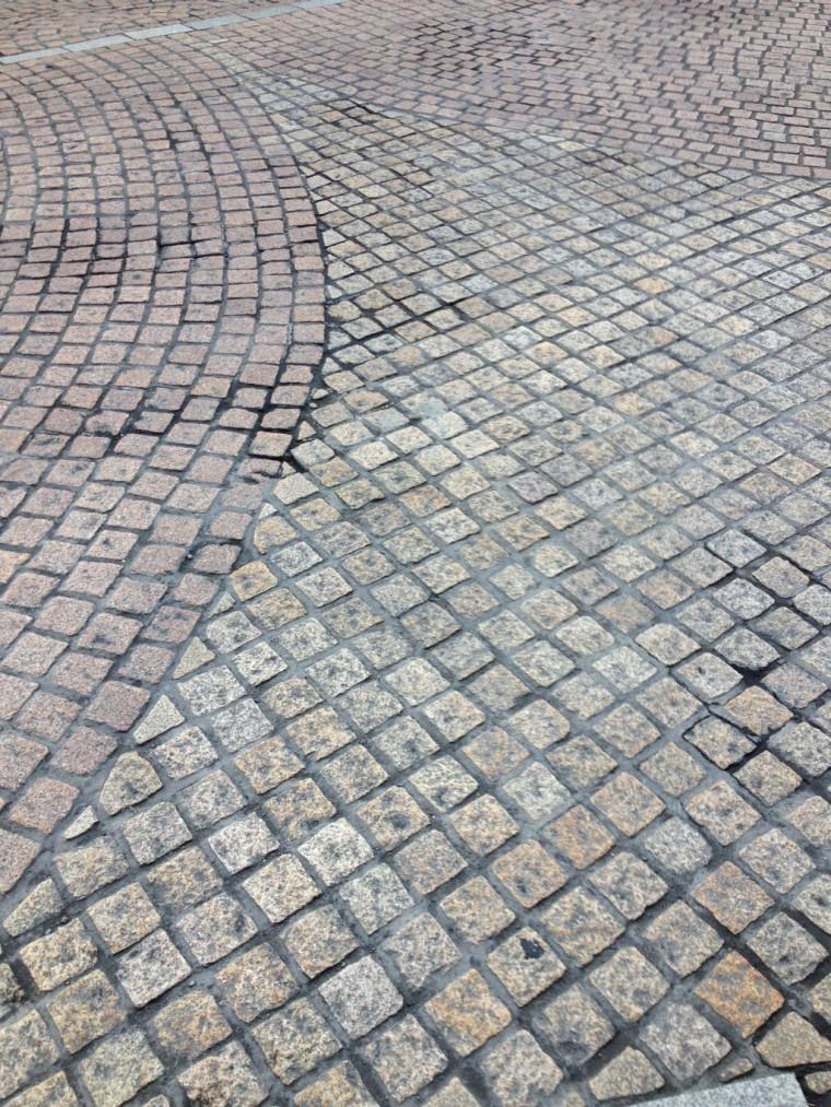 ピンコロの使われた道路